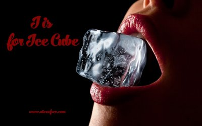 I is for Ice cube – Temperature play