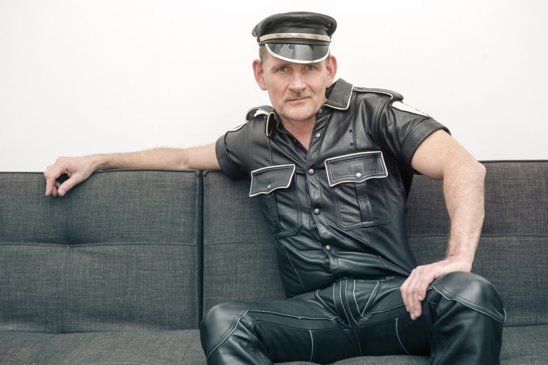 Leather man licensed Adobe Stock