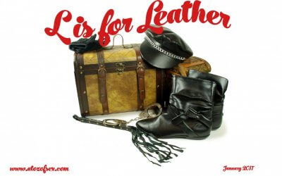L is for Leather